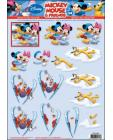 34 Minnie n Mickey Skiing 3D Step by Step Decoupage