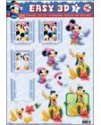 07 Mickey Mouse 3D DIE DUT Step by Step Decoupage