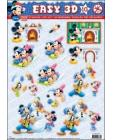 10 Mickey Mouse 3D DIE DUT Step by Step Decoupage