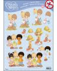 23 Precious Moments 3D DIE CUT SbS Decoupage