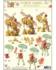 Flower Fairies No 15 3D Step by Step Decoupage