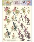 Flower Fairies No 40 3D Step by Step Decoupage