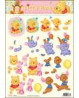 Little Pooh 3D Step by Step Decoupage 01