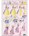 08 Princess Fantasy 3D Step by Step Decoupage