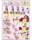 09 Princess Fantasy 3D Step by Step Decoupage