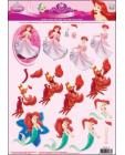 15 Princess Fantasy 3D Step by Step Decoupage