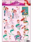16 Princess Fantasy 3D Step by Step Decoupage