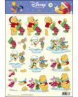 POOH 26 3D Step by Step Decoupage