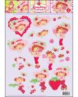 01 Strawberry Shortcake 3D Step by Step Decoupage