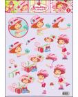 02 Strawberry Shortcake 3D Step by Step Decoupage