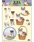 XXL Cats & Dogs SBS 3D Decoupage 964