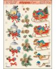 Lanterns & Sleighs 3D Step by Step Decoupage 313
