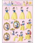 04 Snow White 3D Step by Step Decoupage