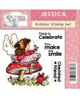 Angelica and Friends - Jessica Stamp Set