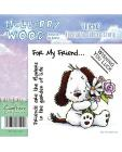 Mulberry Wood - Friend Everyday Rubber Stamp