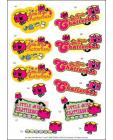 Mr Men DIE CUT Decoupage ~ Little Miss Chatterbox