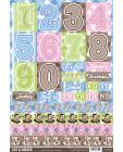 Jungle Topper Decoupage - Farmyard Numbers