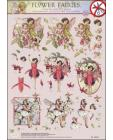 26 Flower Fairy 3D DIE CUT SBS Decoupage