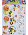 111 Celebrations DIE CUT 3D Decoupage